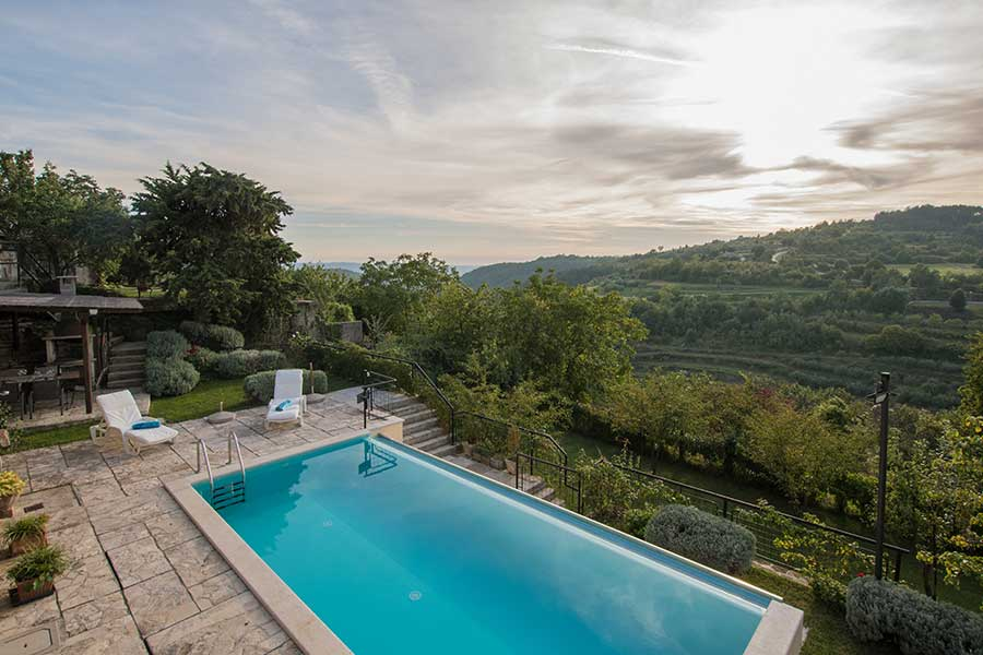 Istrian villa for rent - Oprtalj - Istria